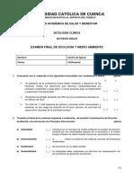 Examen Final Eco y Medio Ambiente