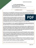 Características Texto Argumentativo Semana 02