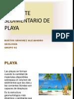 Ambiente Sedimentario de Playa