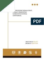 Klatt - Meister - La Proporcionalidad Como Principio Constitucional Universal