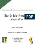 Situación de la Información de Suelos en Chile.