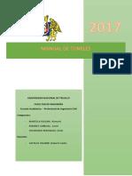 Manual de Túneles