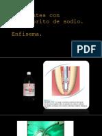 Accidentes Con Hipoclorito de Sodio