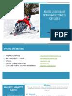 adaptive rrecreation powerpoint pdf