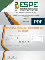 Presentacion 2 Grupo 3 R. Escalon RLC