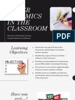 power dynamics in the classroom