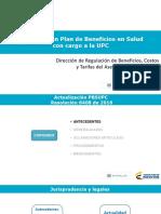Actualizacion Plan Beneficios Salud Cargo Upc