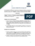 CFE UNAM-Convocatoria2018
