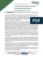 TDR Consultor Especialista Civil