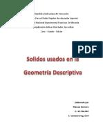 Solidos Usados en La Geometria Descriptiva