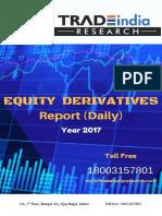 Daily Derivative Prediction Report 19.04.2018 by TradeIndia Research