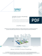 Syspro Product Roadmap 2017