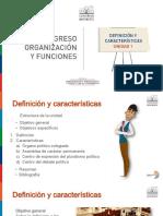 Modulo II - Curso 1 - Unidad 1 - Congreso Organización y Funciones