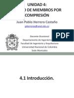 4. Diseño a Compresión