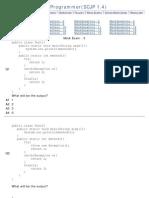 Java MockExam - 3