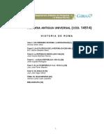 Manual Historia de Roma