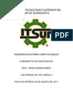 Ensayo ISC Luis Enrique Del Río Carrillo