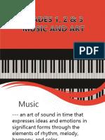 Music and Arts Seminar