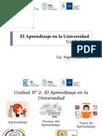 Ciclo Introductorio a Los Estudios Universitarios 2015 Unidad 2