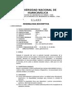 Mineralog Descript Sílabos 2014-i