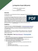 original instructions technology integration project