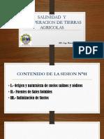 Salinidad y Recuperacion t.a _sesion 1