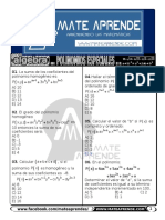 Mateaprende Algebra Polinomios Especiales i