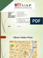 Obras Viales-Piura (Fotos)