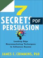 7 Secrets of Persuasion - James C. Crimmins.epub