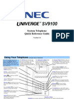 Sv9100 - Mlt User Guide r1.0 Non-navigation En
