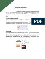 Instrumentos de medición de temperatura