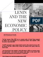 Lenin and new economic policy