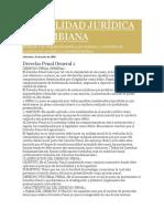 Actualidad Jurídica Colombiana