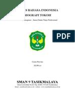 Tugas Bahasa Indonesia (Biografi)