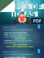 8 Ideas Types