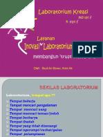 Inovasi Pelayanan Lab PKM
