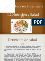 1.2 Nutricion y Salud