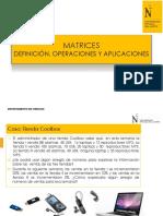 1 PPT 1 Matrices y Operaciones-UPN