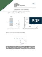Parámetros de Un Transistor Bjt