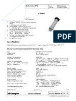 Pressure Transmitter MPG Data Sheet