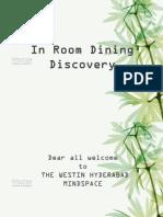 IRD Venue Presentation