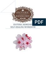 Bach Floral Esoteric Remedies Self Healing Workbook