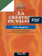 La Creation de Valeur
