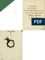 Hebdomas Booklet