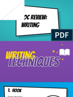 copy of eoc review - writing