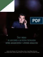 Uso y Riesgo de Adicciones a Las Nuevas Tecnologías Entre Adolescentes y Jóvenes Andaluces