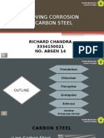 Grooving Corrosion in Carbon Steel