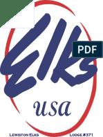Lewiston Elks Lodge #371 Logo