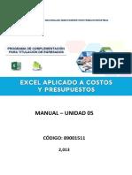 Manual Excel CP U5