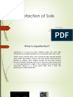 Liquefaction of Soils